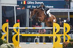 Dunon Gilles, (BEL), Fou de Toi vd Keihoeve<br /> Belgisch Kampioenschap - Lanaken 2015<br /> © Hippo Foto - Dirk Caremans<br /> 19/09/15