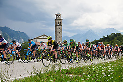 Gracie Elvin (AUS) and Dani Rowe (GBR) at Giro Rosa 2018 - Stage 9, a 104.7 km road race from Tricesimo to Monte Zoncolan, Italy on July 14, 2018. Photo by Sean Robinson/velofocus.com
