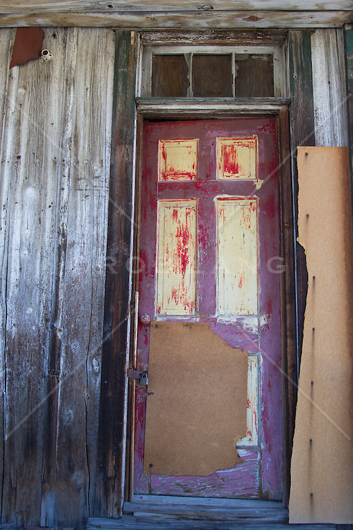 abandoned building doorway of a house in New Mexico