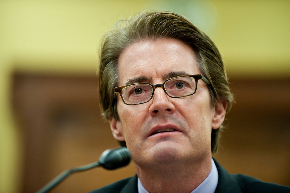 Apr 13,2010 - Washington, District of Columbia USA -.Actor Kyle MacLachlan testifies at the American Advocates For The Arts House Appropriations Committee Hearing in Washington, DC.(Credit Image: © Pete Marovich/ZUMA Press)