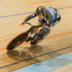 27-12-2017: Wielrennen: NK Baan: Alkmaar<br /> Harry Lavreysen sterk op de sprint