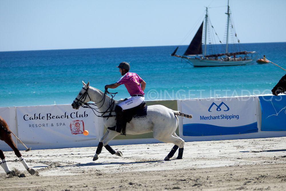 A sporting spectacular which attracts people from around Australia and the world – leading polo players, tourists, media and celebrities – beach polo is not only unique to Broome, it is rare in the world.  Cable Beach is one of a select number of exotic locations to host beach polo. Broome, WA