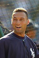 New York Yankees Derek Jeter.