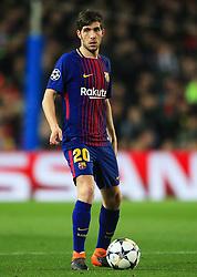 Sergi Roberto of Barcelona - Mandatory by-line: Matt McNulty/JMP - 14/03/2018 - FOOTBALL - Camp Nou - Barcelona, Catalonia - Barcelona v Chelsea - UEFA Champions League - Round of 16 Second Leg
