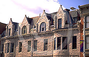 Harrisburg, PA, Architectural Detail, Stone Facades, Allison Hill City Scape