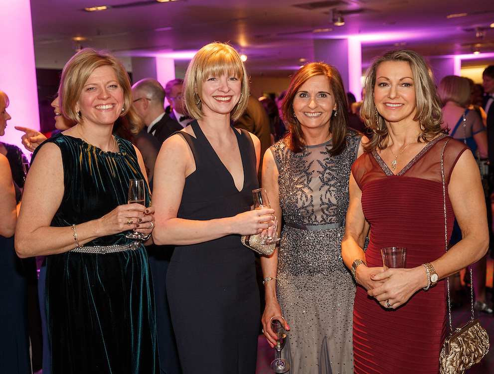 BNO Maggie's Spring Ball at Radisson Hotel Glasgow. L to R :  Katie Campbell, Sorrelle Kerr, Carole McAlpine-Scott and Heather Forgie. Picture Robert Perry for The Herald and  Evening Times 23rd April 2016<br /> <br /> Must credit photo to Robert Perry<br /> <br /> FEE PAYABLE FOR REPRO USE<br /> FEE PAYABLE FOR ALL INTERNET USE<br /> www.robertperry.co.uk<br /> NB -This image is not to be distributed without the prior consent of the copyright holder.<br /> in using this image you agree to abide by terms and conditions as stated in this caption.<br /> All monies payable to Robert Perry<br /> <br /> (PLEASE DO NOT REMOVE THIS CAPTION)<br /> This image is intended for Editorial use (e.g. news). Any commercial or promotional use requires additional clearance. <br /> Copyright 2016 All rights protected.<br /> first use only<br /> contact details<br /> Robert Perry     <br /> 07702 631 477<br /> robertperryphotos@gmail.com<br />         <br /> Robert Perry reserves the right to pursue unauthorised use of this image . If you violate my intellectual property you may be liable for  damages, loss of income, and profits you derive from the use of this image.