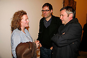 RACHEL WHITEREAD, DEXTER DALWOOD AND JAKE MILLER, New work by Cecily Brown. Gagosian. Brittania St. London. 31 March 2006. ONE TIME USE ONLY - DO NOT ARCHIVE  © Copyright Photograph by Dafydd Jones 66 Stockwell Park Rd. London SW9 0DA Tel 020 7733 0108 www.dafjones.com