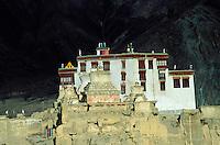 Inde - Province du Jammu Cachemire -  Ladakh - Monastère bouddhiste de Lamayuru
