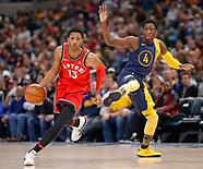 NBA Indiana Pacers vs Toronto Raptors - Indianapolis, In