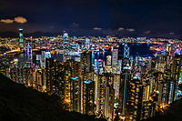 Cityscape from Victoria Peak @ Night