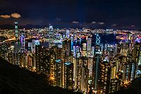 Cityscape from Victoria Peak @ Night