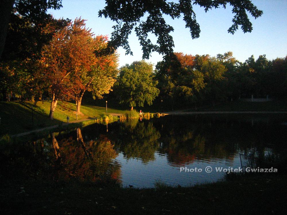 Parc Lafontaine, Plateau region Montreal.
