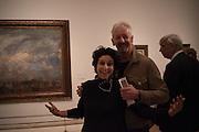 KAREN MURAT; DAVID MACH; , Intrigue: James Ensor by Luc Tuymans. Royal Academy. Piccadilly, London. 25 October 2016