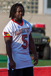 "16 August 2004   Running Back Brian Thompson    ""Meet the Redbirds"" evening at Illinois State University, Normal IL"