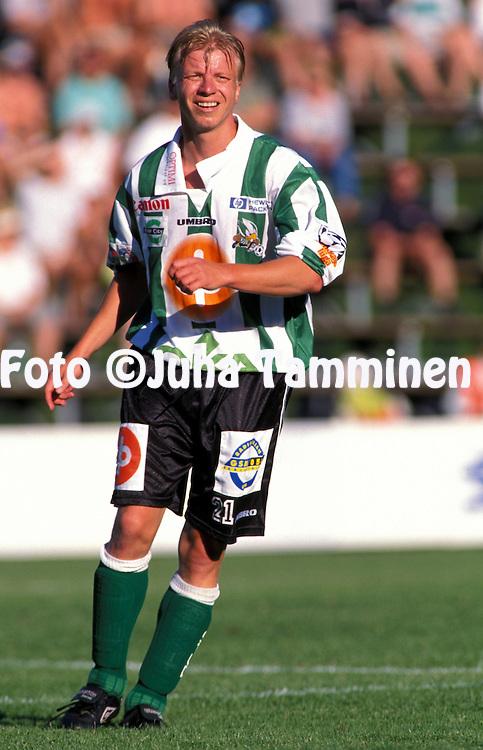 1.7.1999.Veikkausliiga.Mauri Keskitalo - Kotkan TP.©JUHA TAMMINEN