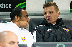 Marcos Magno Morales Tavares of Maribor and Dare Vršič of Maribor during Football match between NK Olimpija and NK Maribor in 23rd Round of Prva liga Telekom Slovenije 2018/19 on March 16, 2019, in SRC Stozice, Ljubljana, Slovenia. Photo by Vid Ponikvar / Sportida
