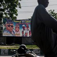 Governor Shattima's signs are omnipresent in the Maiduguri streets.