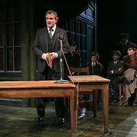 An Enemy of the People by Henrik Ibsen;<br /> Directed by Howard Davies;<br /> Hugh Bonneville as Dr Tomas Stockmann;<br /> Alfie Scott as Ejlif;<br />Jack Taylor as Morten;<br /> Alice Orr-Ewing as Petra Stockmann;<br /> Chichester Festival Theatre, Chichester, UK;<br /> 29 April 2016