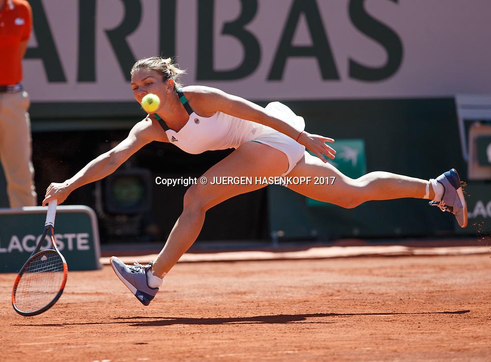 SIMONA HALEP (ROU)<br /> <br /> Tennis - French Open 2017 - Grand Slam / ATP / WTA / ITF -  Roland Garros - Paris -  - France  - 10 June 2017.