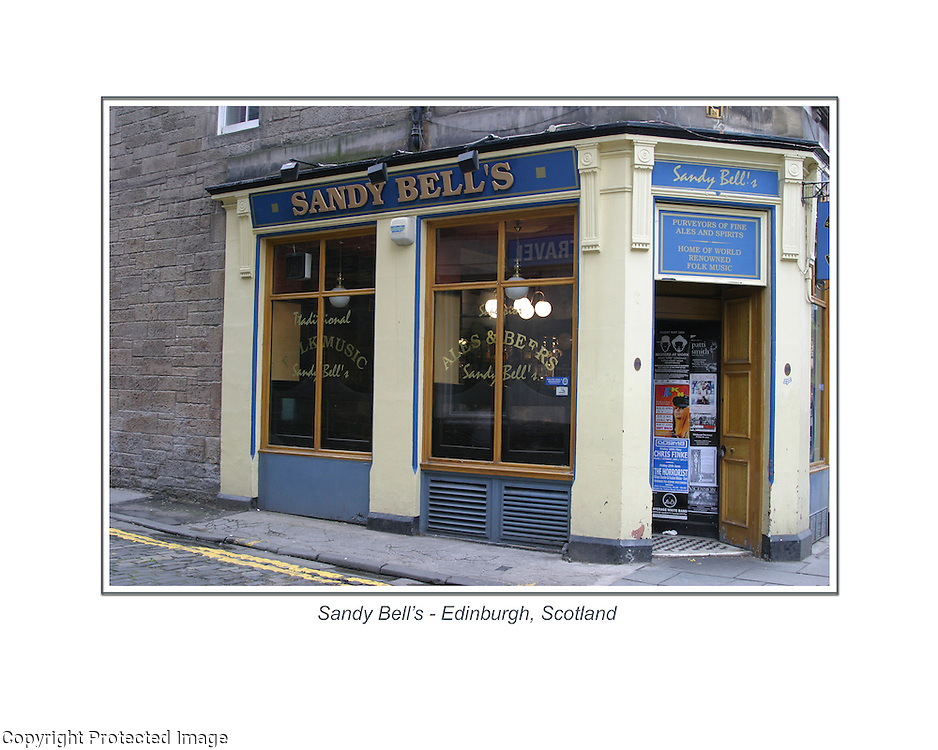 The Sandy Bell's in Edinburgh, Scotland.<br />