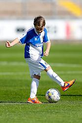 Mascots warm up - Mandatory byline: Rogan Thomson/JMP - 07966 386802 - 12/09/2015 - FOOTBALL - Memorial Stadium - Bristol, England - Bristol Rovers v Accrington Stanley - Sky Bet League 2.