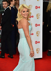 Holly Willoughby arriving for the Virgin TV British Academy Television Awards 2017 held at Festival Hall at Southbank Centre, London.