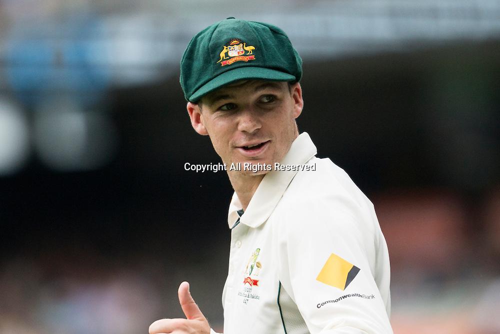 27.12.2016. MCG, Melbourne. Commonwealth Bank Test cricket Series, Australia versus Pakistan Boxing Day test. Peter Handscomb
