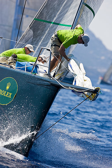 08_021185 © Sander van der Borch. Porto Cervo,  2 September 2008. Maxi Yacht Rolex Cup 2008  (1/ 6 September 2008). Day 2.