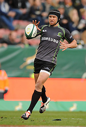 Image ©Licensed to i-Images Picture Agency. 07/06/2014. CAPE TOWN, SOUTH AFRICA -  Matthew Giteau (Capt) of the World XV during the Castle Lager Incoming Series rugby tour match between the Springboks and the World XV at Newlands rugby stadium. Picture by Roger Sedres / i-Images