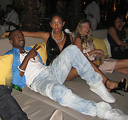 **EXCLUSIVE**.Kanye West and Alexis.The Cain on The Cove Hotel Opening.Paradise Island, Bahamas.Friday, May 11, 2007 .Photo By Celebrityvibe.To license this image please call (212) 410 5354; or.Email: celebrityvibe@gmail.com ;