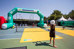 Zavarovalnica SAVA at ATP Challenger Zavarovalnica Sava Slovenia Open 2017, on August 8, 2017 in Sports centre, Portoroz/Portorose, Slovenia. Photo by Urban Urbanc / Sportida