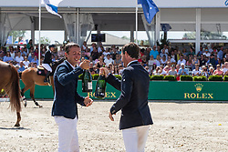 Allen Bertram, Kenny Darragh, IRL<br /> Grand Prix Rolex powered by Audi <br /> CSI5* Knokke 2019<br /> © Hippo Foto - Dirk Caremans<br /> 30/06/2019