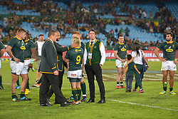 Pretoria, Loftus Versveld Stadium. Rugby Championship. South African Springboks vs New Zealand All Blacks.  06-10-18 The Springboks after the game.<br /> Picture: Karen Sandison/African News Agency(ANA)