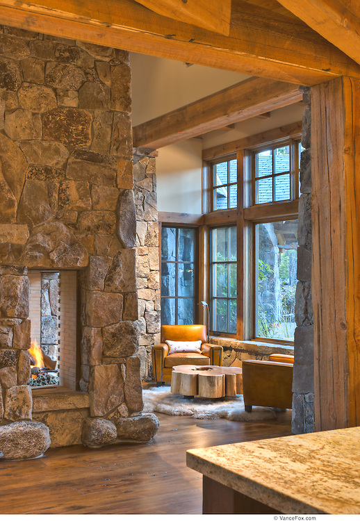 Residential Home Uphoff, Martis Camp by MWA Architects , Jim Morrison Construction, Truckee, CA