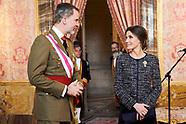010619 Spanish Royals Celebrate New Year's Military Parade 2019