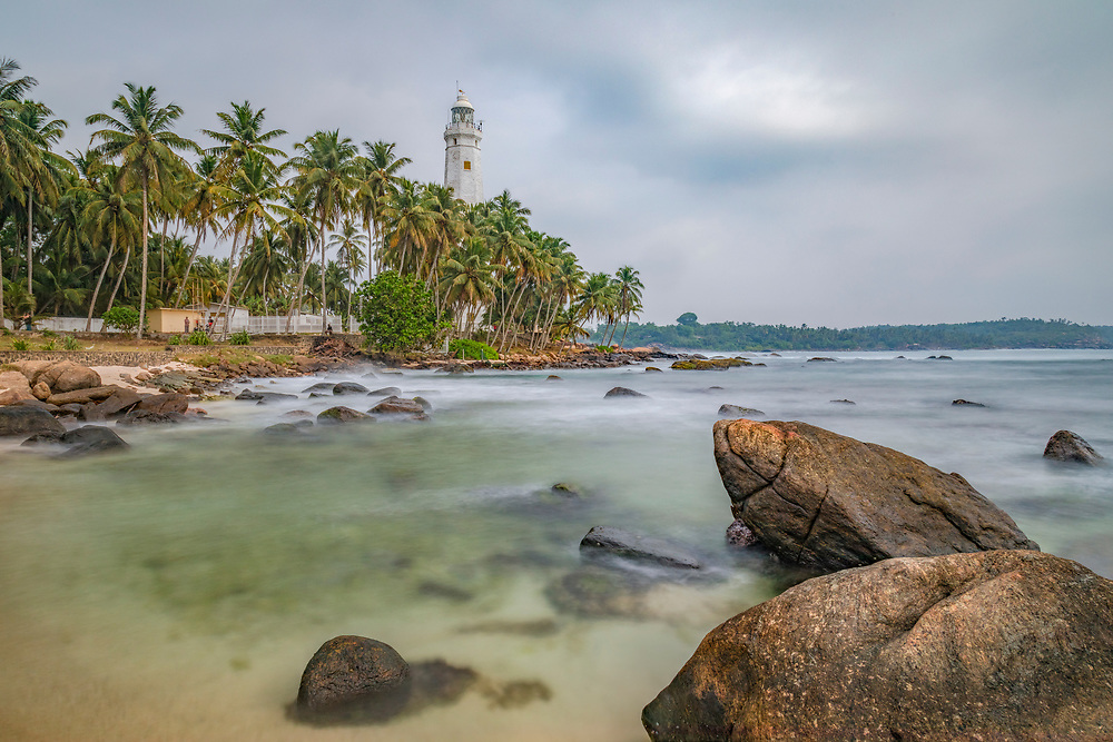 Dondra Head Lighthouse, Dondra, Sri Lanka, Asia