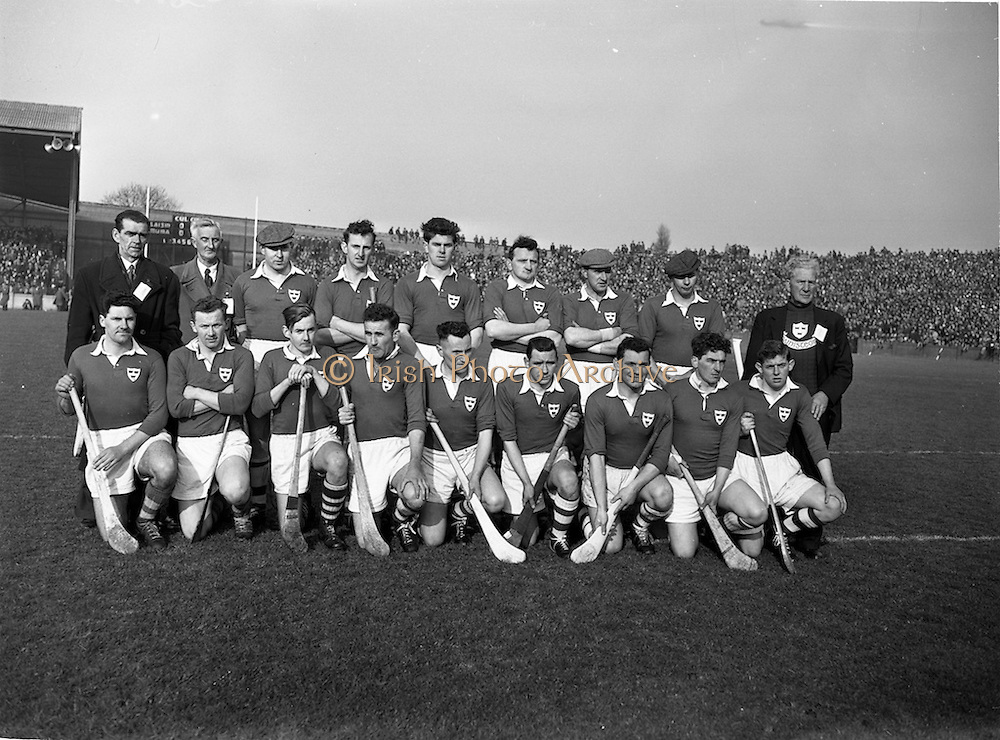 17/03/1958<br /> 03/17/1958<br /> 17 March 1958<br /> Interprovincial League: Munster v Leinster at Croke Park, Dublin. Leinster team.