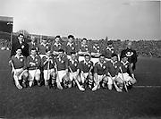17/03/1958<br /> 03/17/1958<br /> 17 March 1958<br /> Interprovincial League: Munster v Leinster at Croke Park, Dublin. Leinster team.