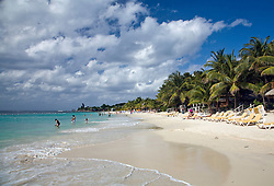 A favored shore excursion for cruise ship passengers, West Bay is one of Roatan's most popular beach resort areas.