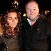 NLD/Den Haag/20120206 - Premiere Als je Verliefd Word, darter Raymond van Barneveld en dochter
