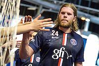 Mikkel Hansen  - 12.04.2015 - Paris Handball / Vezprem - Champions League<br />Photo :  Andre Ferreira  / Icon Sport