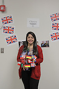 Yazmin Hurtado of Davis HS attended the Junior Achievers Program, thanks to the British American Foundation of Texas, London.