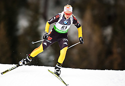 "19.01.2012, Südtirol Arena, Antholz, ITA, E.ON IBU Weltcup, 6. Biathlon, Antholz, Sprint Damen, im Bild Miriam Goessner (GER) // Miriam Goessner (GER) during Sprint Women E.ON IBU World Cup 6th, ""South Tyrol Arena"", Antholz-Anterselva, Italy on 2012/01/19, EXPA Pictures © 2012, PhotoCredit: EXPA/ Juergen Feichter"