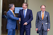 Koning Willem-Alexander opent het nieuwe Park Paviljoen op het Nationale Park de Hoge Veluwe.<br /> <br /> Op de foto: Koning Willem-Alexander