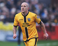 Football - 2016 / 2017 FA Cup - Third Round: Sutton United vs. AFC Wimbledon<br /> <br /> Nicky Bailey of Sutton at Gander Green Lane.<br /> <br /> COLORSPORT/ANDREW COWIE