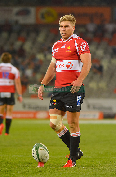 Jaco van der Walt of the Lions during the Currie Cup Premier division match between the The Free State Cheetahs and the Lions held at Toyota Stadium (Free State Stadium), Bloemfontein, South Africa on the 15th September 2016<br /> <br /> Photo by:   Frikkie Kapp / Real Time Images