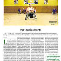 LE MONDE CAHIERS SPORT - Ryhad Sallem