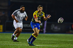 Garyn Smith of Cardiff Blues in action  - Mandatory by-line: Craig Thomas/JMP - 14/01/2018 - RUGBY - BT Sport Cardiff Arms Park - Cardiff, Wales - Cardiff Blues v Toulouse - European Rugby Challenge Cup