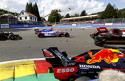 September 1, 2019, Spa-Francorchamps, Belgium: Motorsports: FIA Formula One World Championship 2019, Grand Prix of Belgium, .. Start, #33 Max Verstappen (NLD, Aston Martin Red Bull Racing), #7 Kimi Raikkonen (FIN, Alfa Romeo Racing) (Credit Image: © Hoch Zwei via ZUMA Wire)
