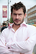 Giles Coren & Councillor Keith Moffat, Kentish Town 17/09/09